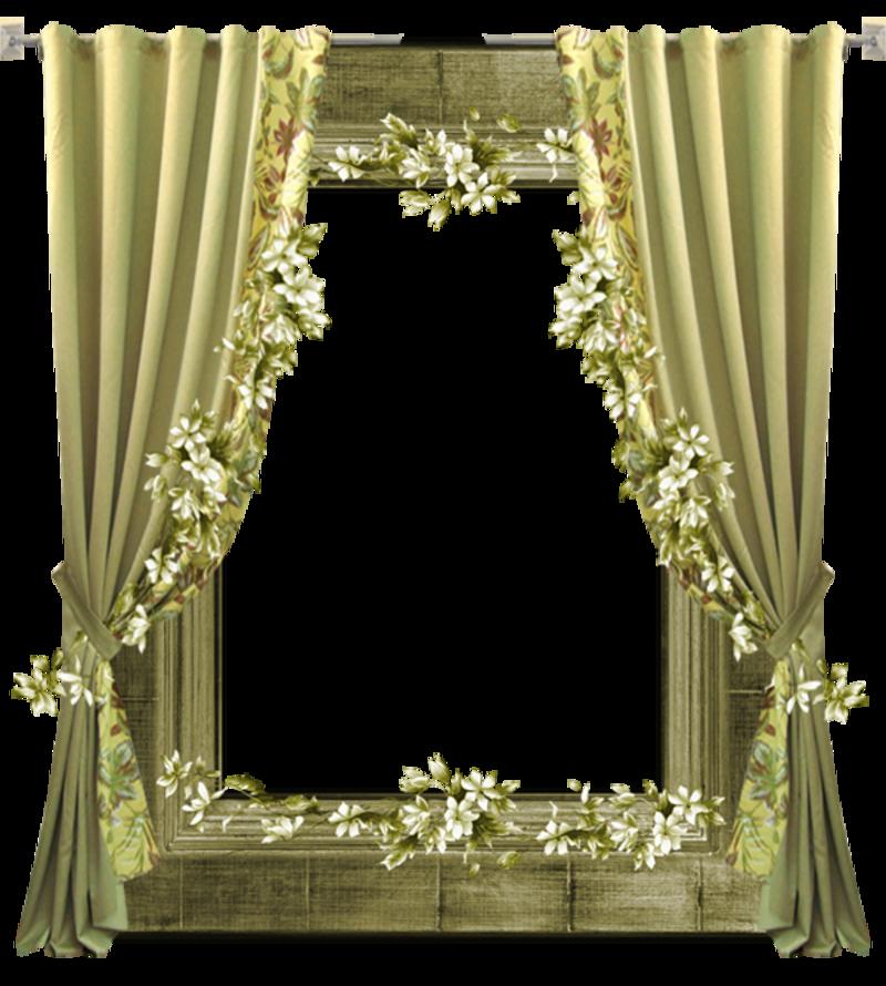Gifs et tubes rideaux for Window design png
