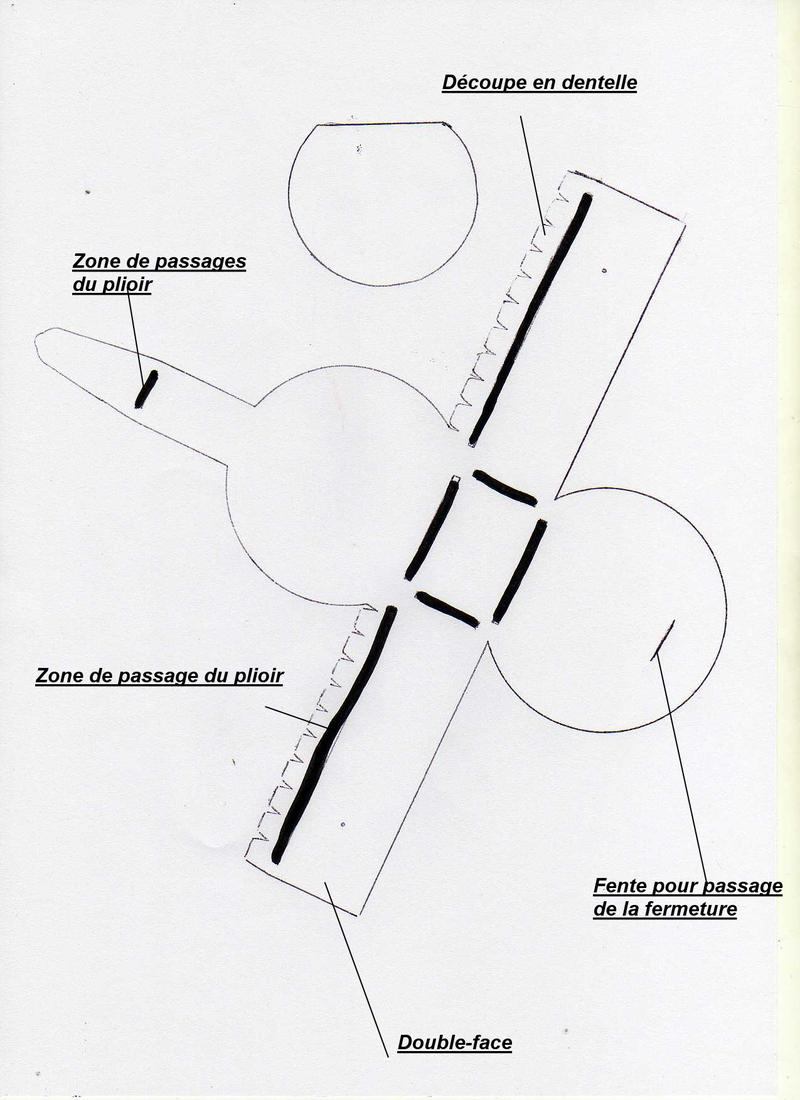Célèbre Gabarit boîte ronde QK81